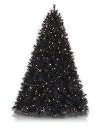 Tuxedo Black Christmas Tree