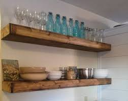 Wood Floating Shelves 12 Inches Deep