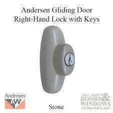Andersen 200 Series Patio Door Lock by Sliding Door Locks With Key Sliding Door Keyed Lock