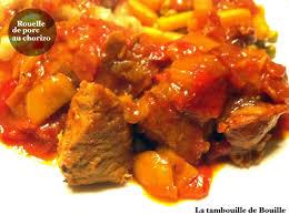 cuisiner rouelle de porc en cocotte minute rouelle de porc au chorizo la tambouille de bouille