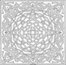 Celtic Mandalas To Color