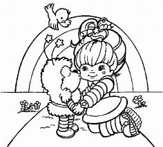 Rainbow Coloring Pages Free Printable Bright Learn To