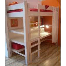 lit mezzanine 1 place bureau integre lit mezzanine de style avec bureau bambins déco chambre
