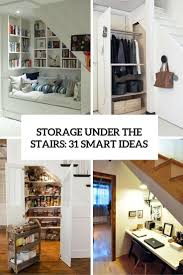 Storage Under The Stairs: 31 Smart Ideas - DigsDigs Classy 50 Living Room Designs Under The Stairs Design Decoration How To Build An Office The Howtos Diy Surprising Dressing Staircase Options Home Glamorous Basement Storage Ideas Pictures By Style Creative Bright Homes Articles With Tag Coat Closet Under Stairs Transformed Into A Home Office Nook Axmseducationcom Solutions Bespoke Fniture Ldon Arafen