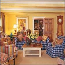 Red Country French Living Rooms by New Home Interior Design Country French Decorating Ideas