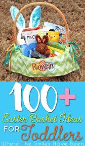 Over 100 Toddler Easter Basket Ideas