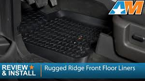 Weathertech Floor Mats 2009 F150 by 2009 2014 F 150 Rugged Ridge Front Floor Liners Black Review