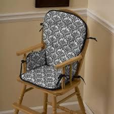 Wooden High Chair Cushions Inside High Chair Cushion Replacement ...