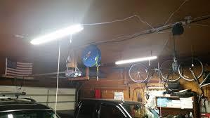 LED Shop Light Fixture 4 Foot 8 Watt Chain or Ceiling Mount