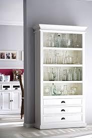 albion weiß lackiert mahagoni wohnzimmer möbel schrank