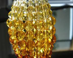 beaded light bulb cover for chandelier sconce