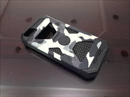ROKFORM ALUMINUM CASE FUZION NIGHT CAMO FOR iPHONE 5S