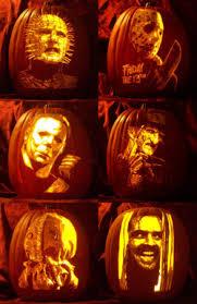 Printable Freddy Krueger Pumpkin Stencils by Art Film Horror Halloween Artist Artwork Fall Autumn