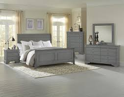 Vaughan Bassett Reflections Dresser by Bedroom Vaughan Bassett Reflections Parchment Sleigh Bed Sfdark