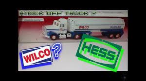100 Wilco Truck Stops Knock Off Hess Truck YouTube