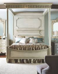 Sleep Like A Queen Or King In This Canopy Bed Inspired By Neoclassical Style