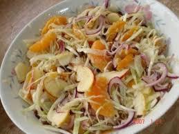 cuisiner le chou blanc en salade salade de choux blanc multifruits aigre doux recette ptitchef