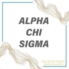 99 Bu Chem Alpha Chi Sigma At Boston University Home Facebook