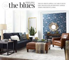 Haverty Living Room Furniture by Havertys Blue Parker