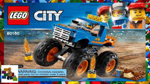 100 Lego Monster Truck Games LEGO Instructions City 60180 YouTube