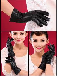 touch screen gloves black leather gloves for women buytra com