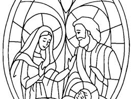 Nativity Scene Bible Christmas Story Coloring Pages Best