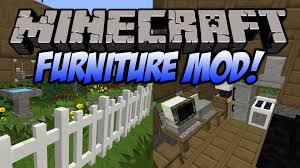 Minecraft Furniture Mod Couches Ovens puters and More