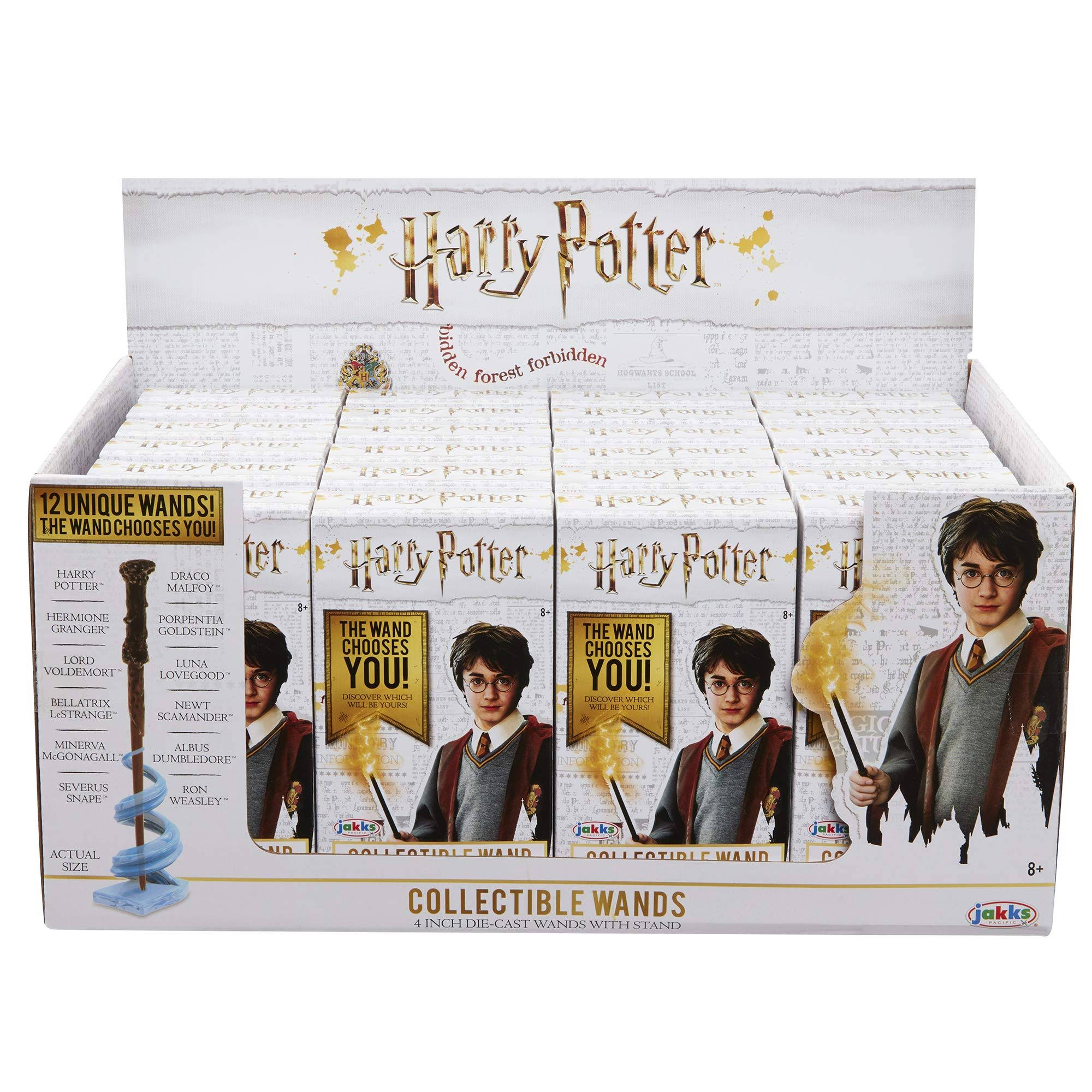 Harry Potter Diecast Series 2 Collectible Wand 4 Mystery Pack