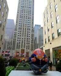 Christmas Tree Rockefeller Center Live Cam by The Big Egg Hunt Egg Travaganza New York Cliché