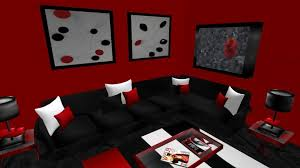Red Black And Brown Living Room Ideas by Red Black Bedroom Ideas Tremont Round Coffee Table Dark Wooden