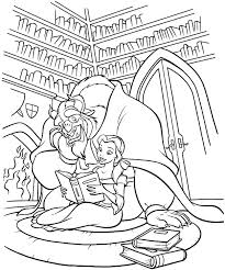 Beauty And The Beast Coloring Pages 36