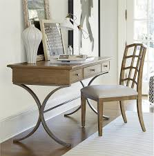 Drop Front Writing Desk by French Modern Wood Metal Writing Desk With Drawers Writing