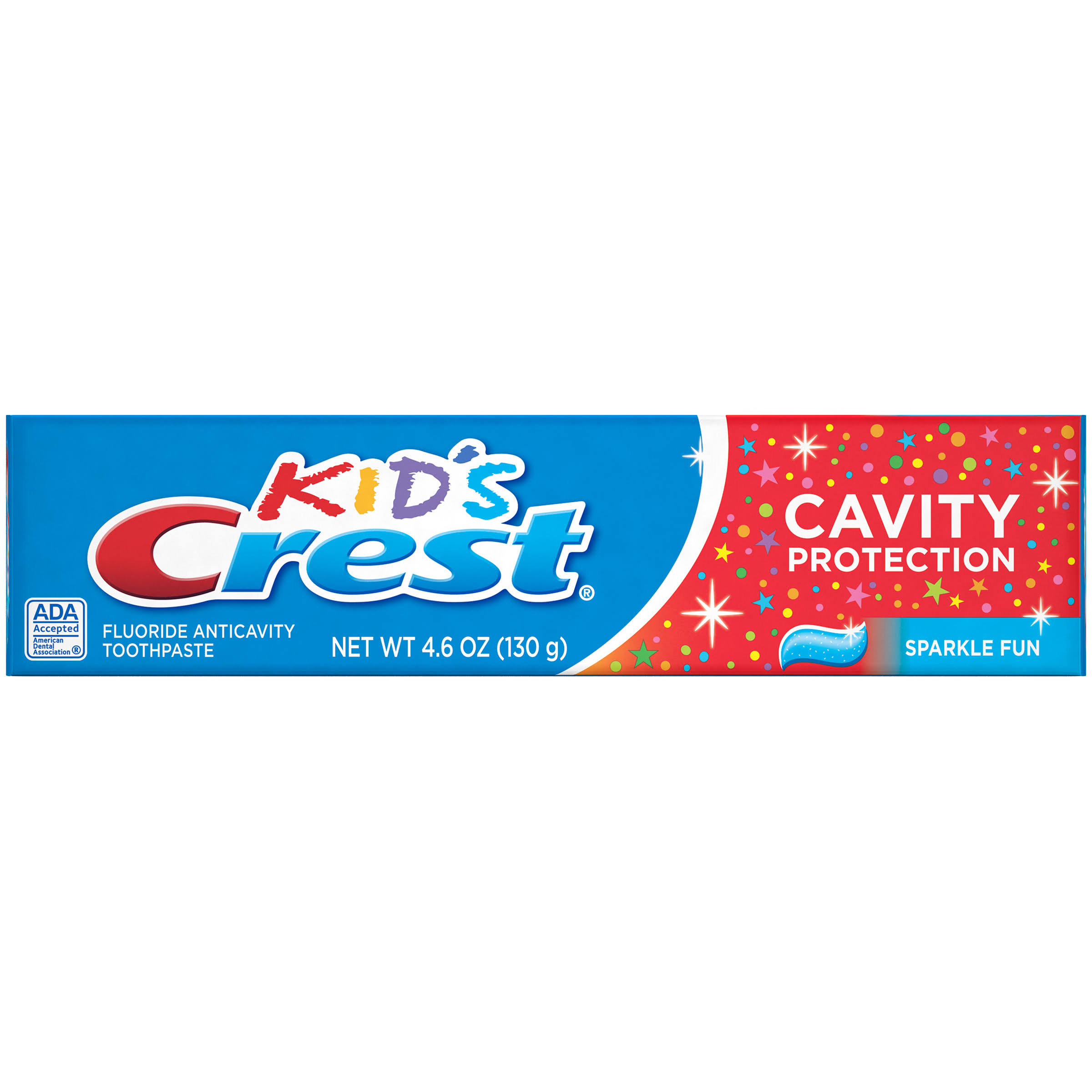 Crest Kid's Cavity Protection Sparkle Fun Fluoride Anticavity Toothpaste - 4.6oz