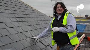 affleck roofing how to replace a broken slate or rood tile
