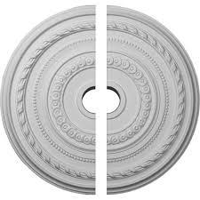 Split Design Ceiling Medallion by Ekena Millwork 25 3 8 In O D X 3 3 8 In I D X 1 3 8 In P Cole