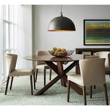 dining tables dining room crate and barrel round dining table