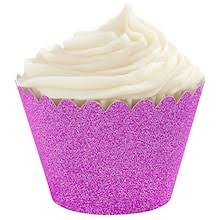 Glitter Cupcake Wrappers By Celebrate ItR