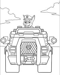 Kids Printable Paw Patrol Coloring Pages Chase 67391