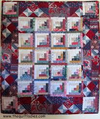 The Quilt La s Book Collection Mini Log Cabin Quilt Pattern