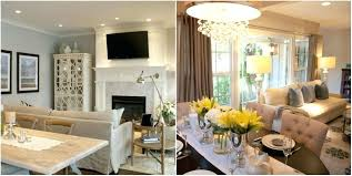 How To Decorate Living Room And Dining Combined Decorating Combo Kuchniauani
