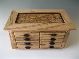 Wooden Jewelry Box Small