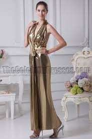 halter open back evening dress prom gown thecelebritydresses