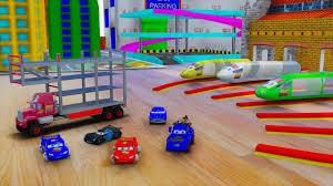 Cars 3 Fabulous McQueen Tow Mater Mack Truck Hauler Monster Truck ...