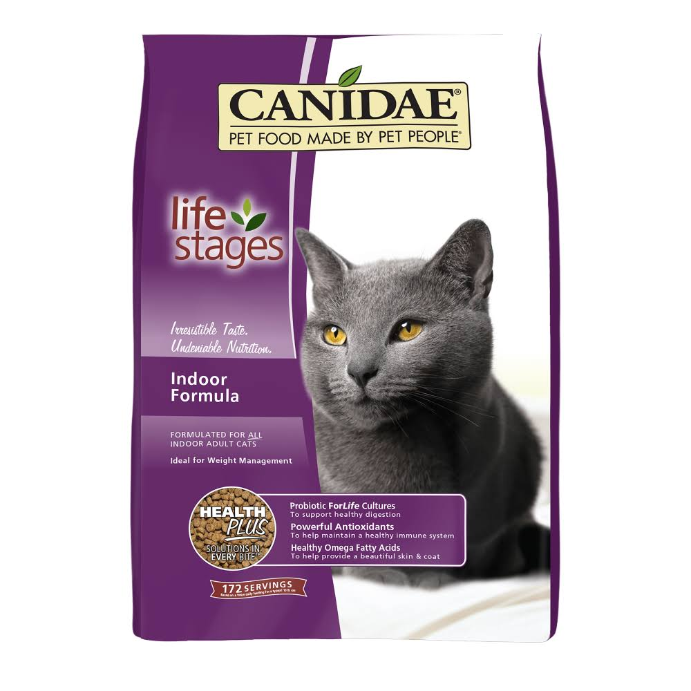 Canidae Life Stages Cat Food - Dry, Indoor Formula, 15lb