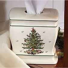 Christmas Tree Storage Bin Plastic by Spode Christmas Tree Bath Accessories