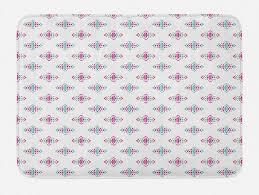 badematte plüsch badezimmer dekor matte mit rutschfester rückseite abakuhaus boho hippie geometrische minimal kaufen otto