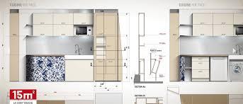 idee plan cuisine idee plan cuisine avec am nagement studio 20m2 ikea avec deco studio