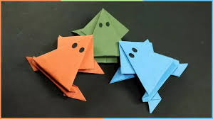 You Can Easily Make This Paper Frog Simple And Easy Kids Craft Is Very Needs No Special Material
