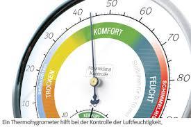 optimale luftfeuchtigkeit in räumen empfehlungen und tipps