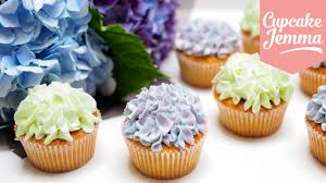 Hydrangea Cupcake Decoration Tips Techniques